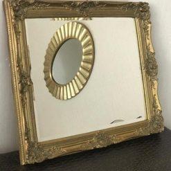 retro varakli ayna italya 247x247 - Altın Varaklı Nostaljik İthal Ayna