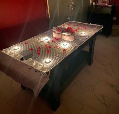 Spa Center ve Masaj Salonları masaj yatağı